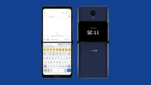 Smartphone dobrável da Nokia ainda poderá ser uma realidade