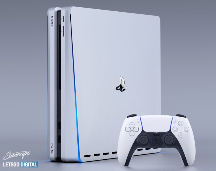 render sony playstation 5