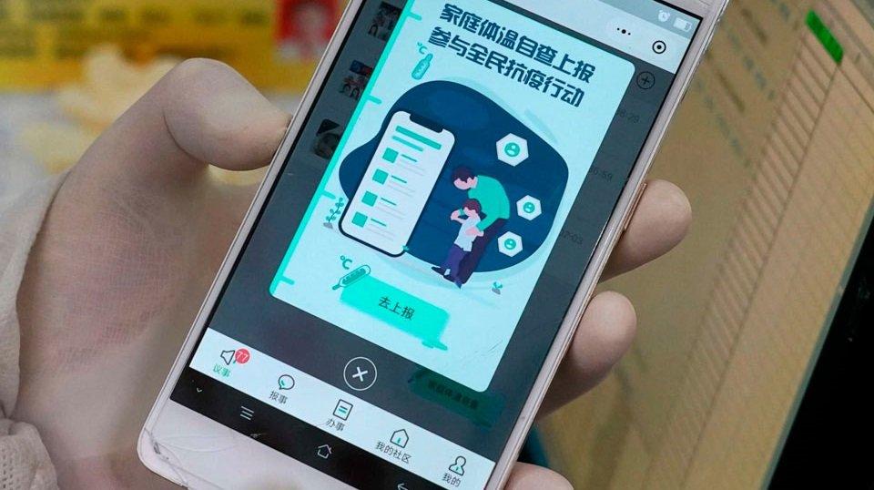 smartphone app china covid-19