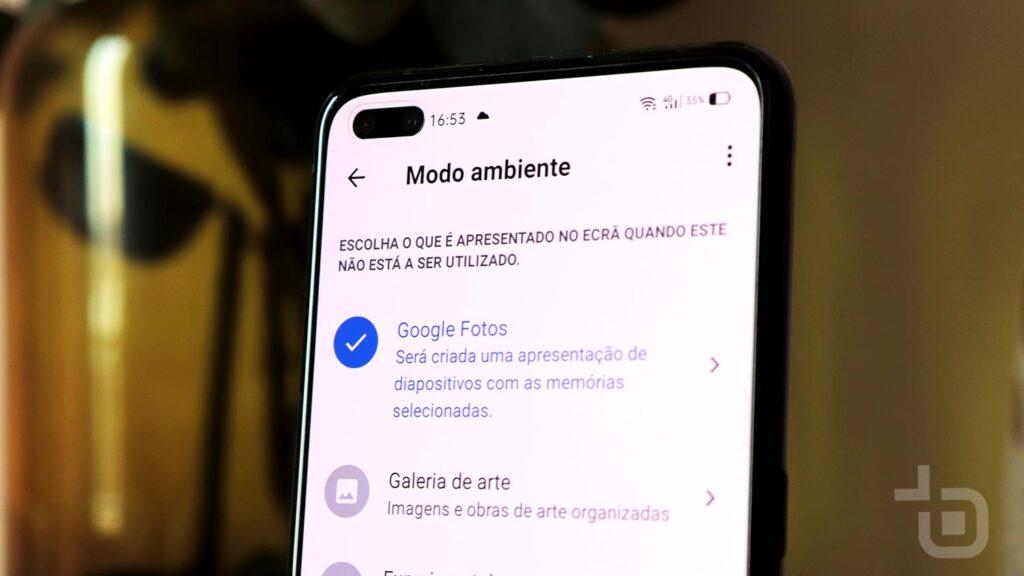 google photos android tv