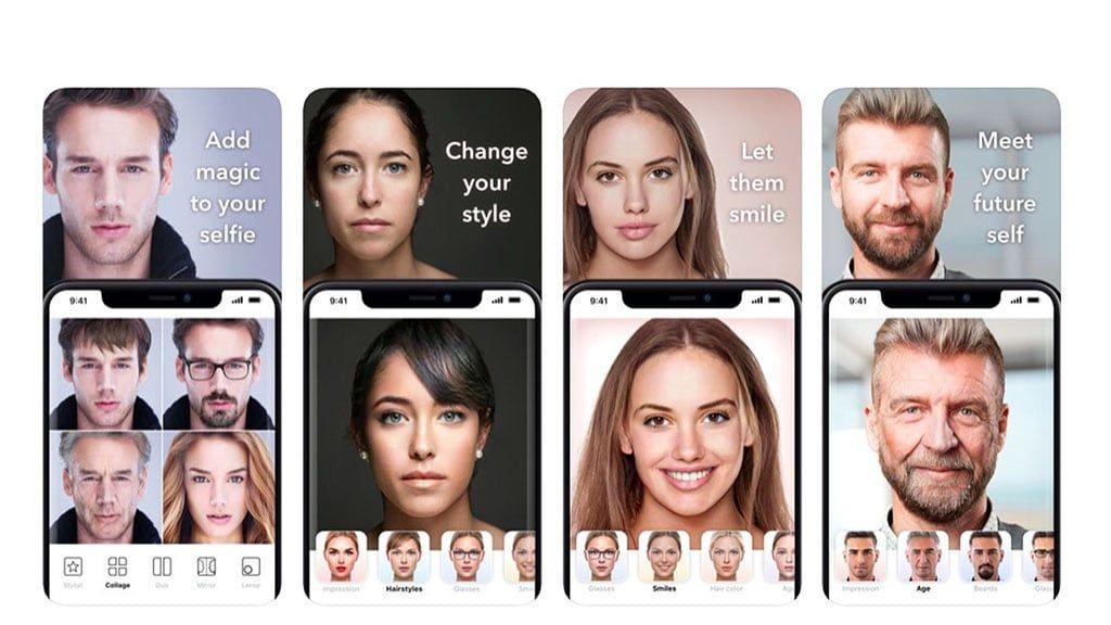FaceApp mudar genero idade aderecos Android iOS