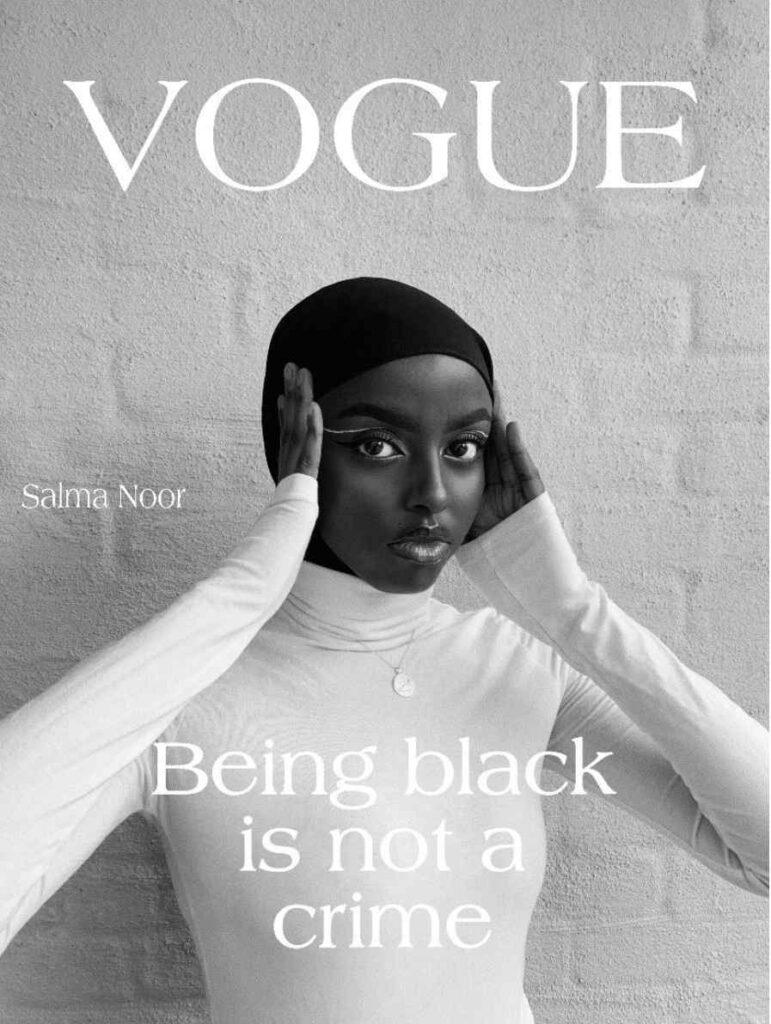 Slama Noor #voguechallenge