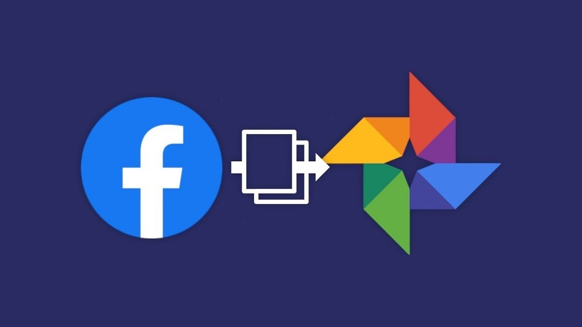exportar fotos videos facebook para google photos