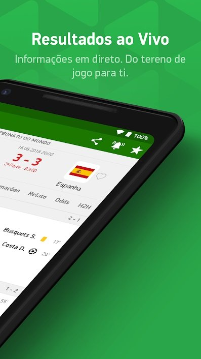 Flashscore smartphone android