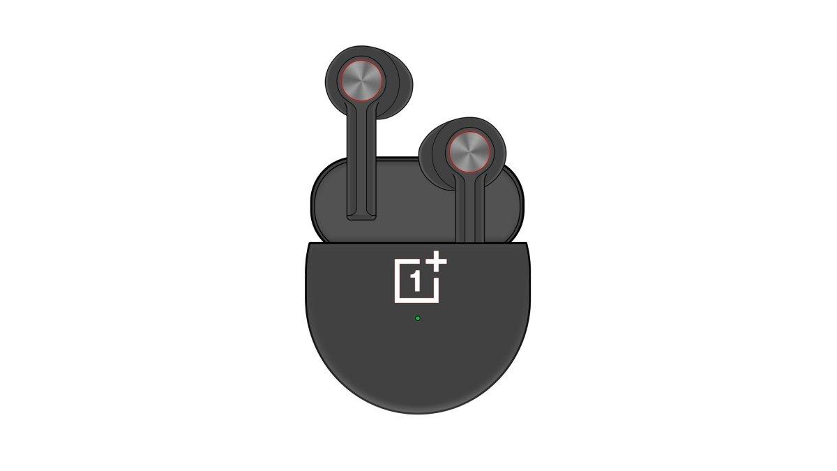 Novo leak mostra desenho dos OnePlus Buds em cor preta