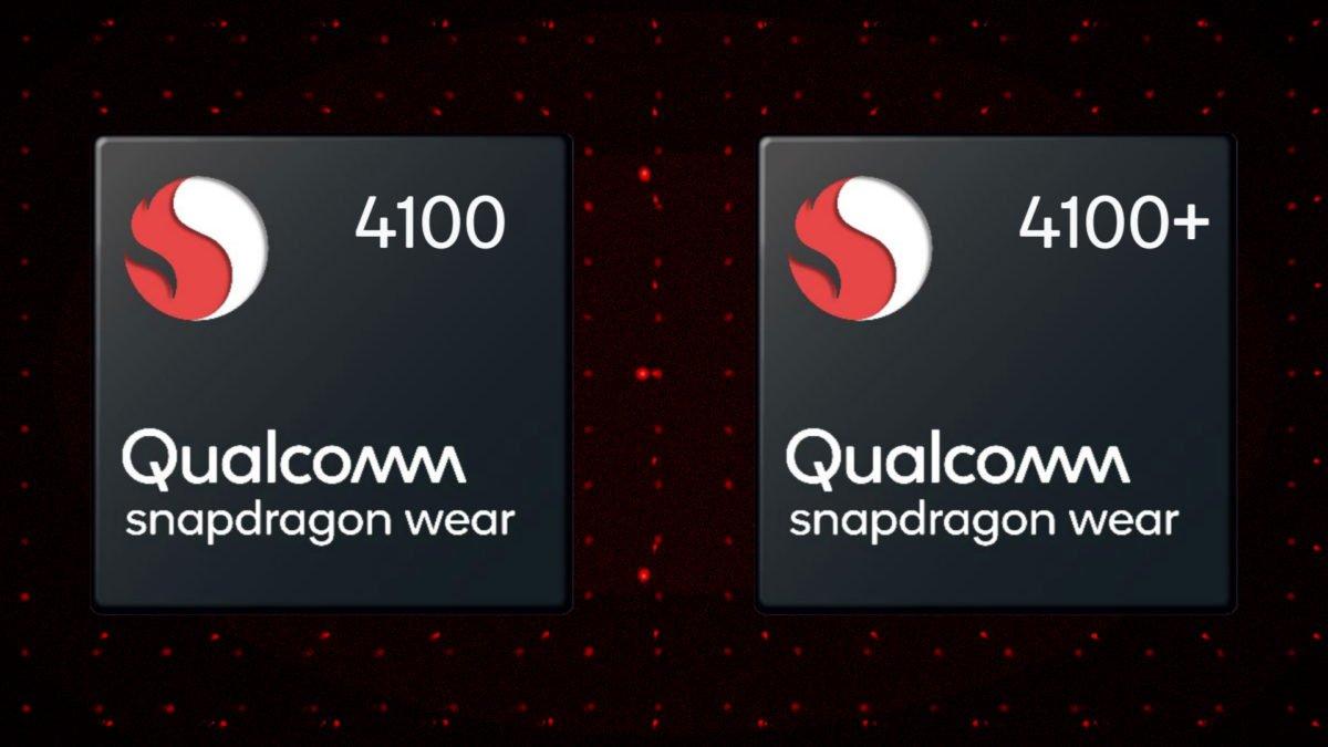 qualcomm wear 4100 smartwatches