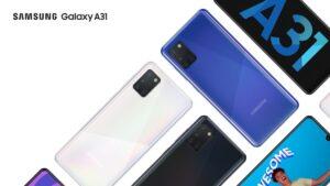 Já chegou oficialmente o novo Samsung A31