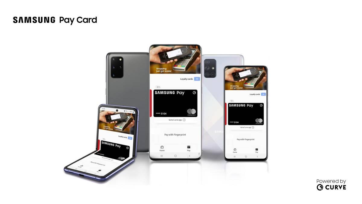 Samsung anuncia Pay Card em parceria com Curve e MasterCard