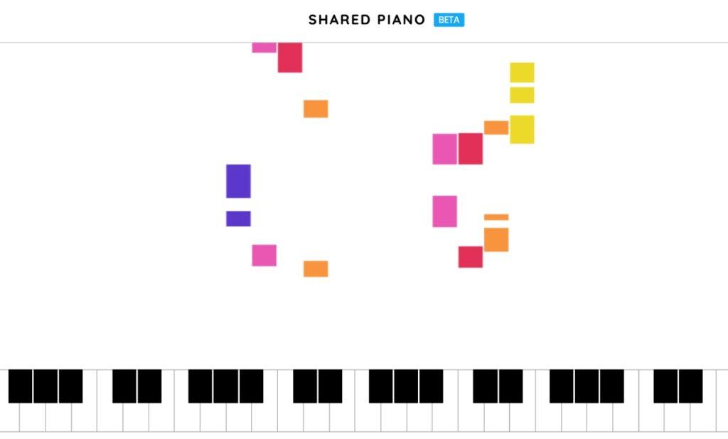 shared piano google