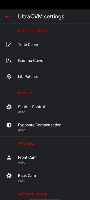 smartphones Gcam UltraCVM 5