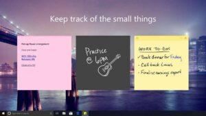 Microsoft prepara novidades na sua aplicação Sticky Notes