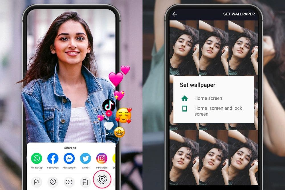 tiktok wall picture live photo techbit