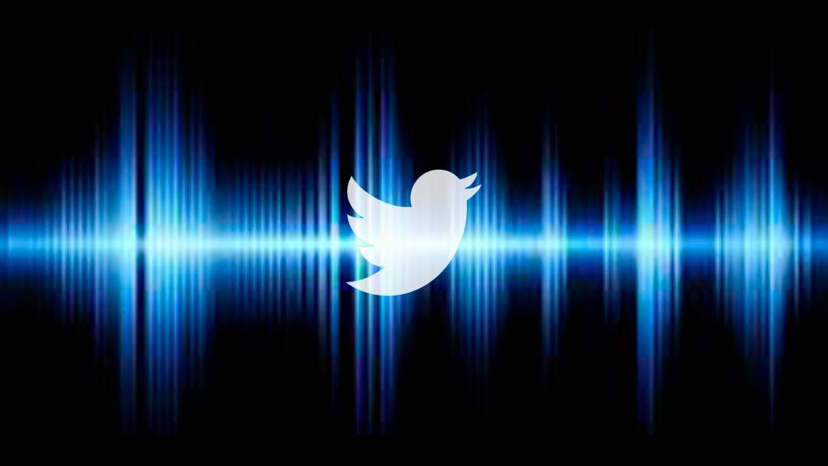 twitter audio