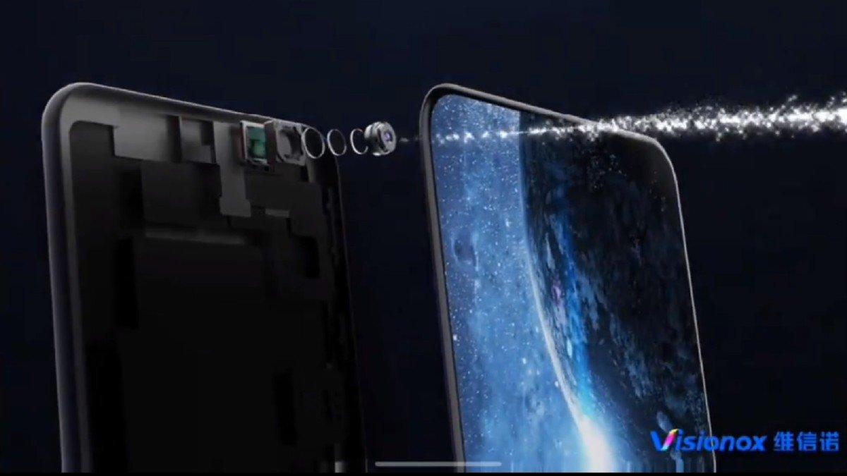 Tecnologia para integrar câmara debaixo do ecrã entra finalmente em produção em massa