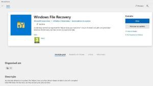 Microsoft lança ferramenta para recuperar ficheiros apagados