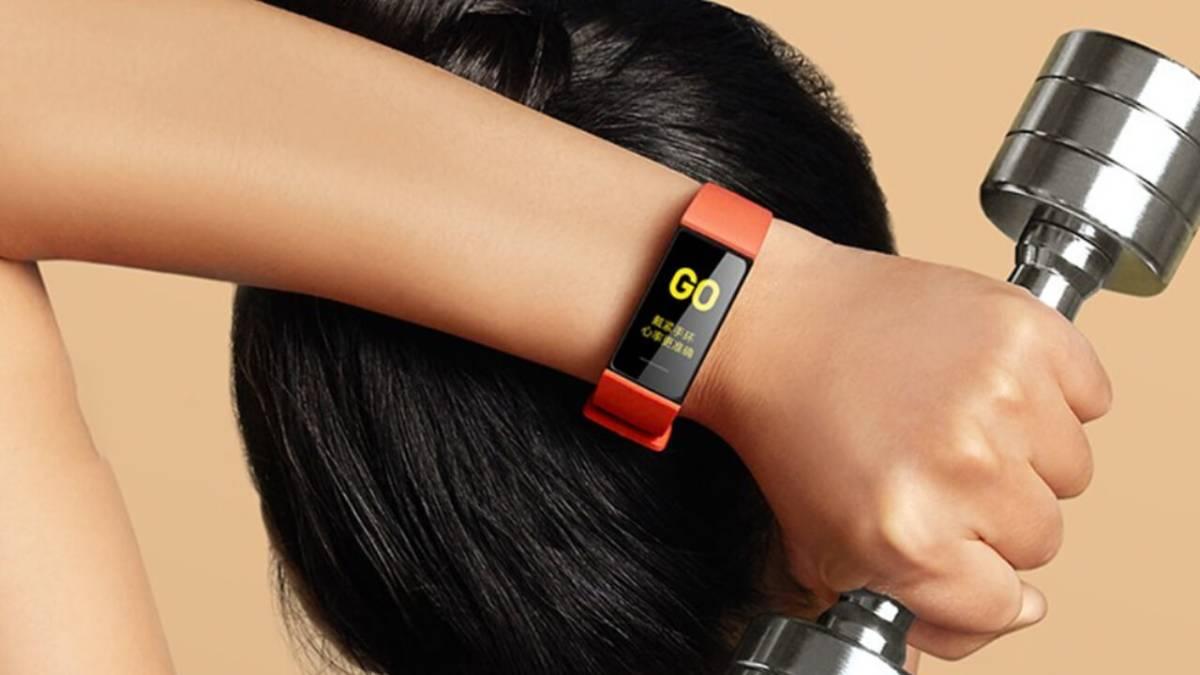 Xiaomi Mi Smart Band 4C laranja
