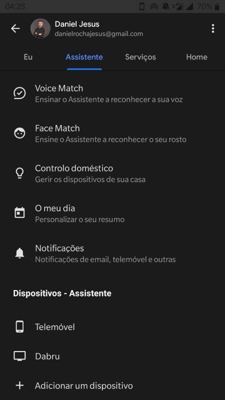 como desativar google assistente android 2