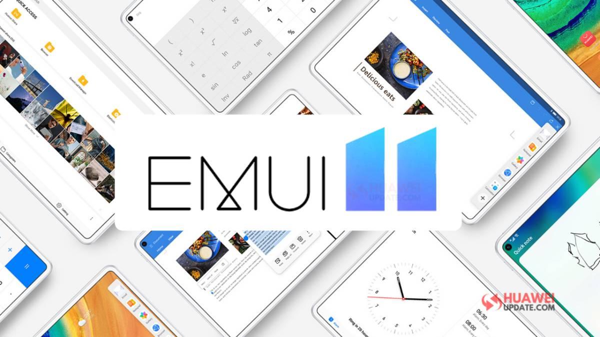 Huawei publica calendário para atualização de 27 modelos para a EMUI 11