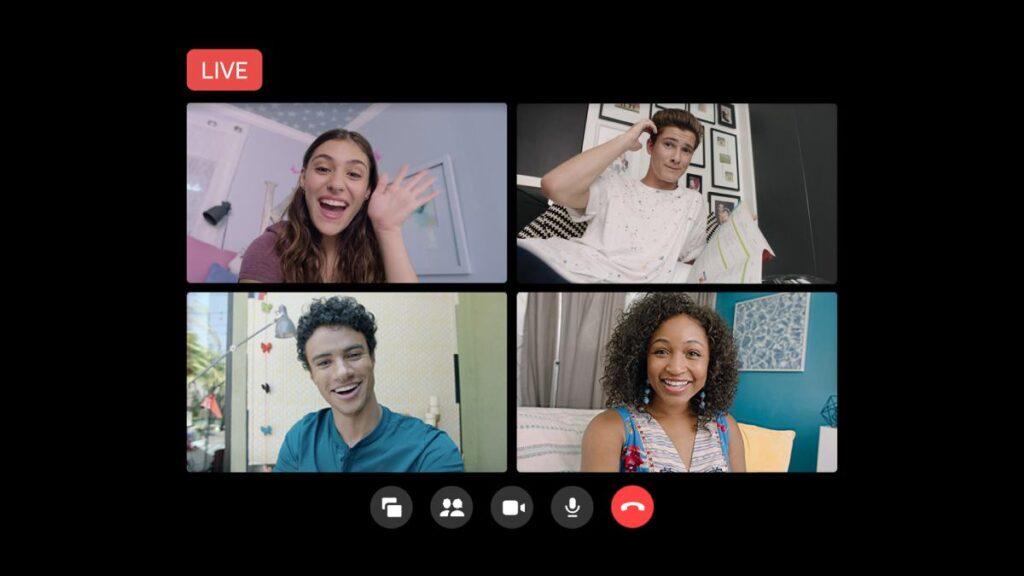 facebook live salas messenger