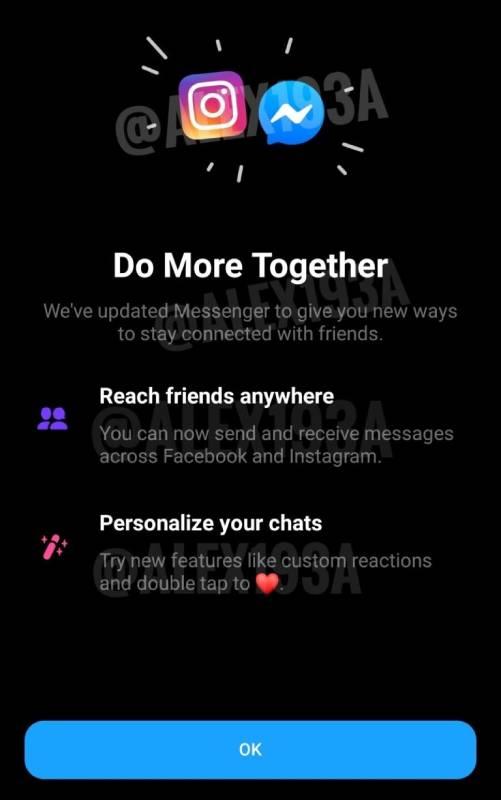 integracao instagram mensagens facebook messenger 3