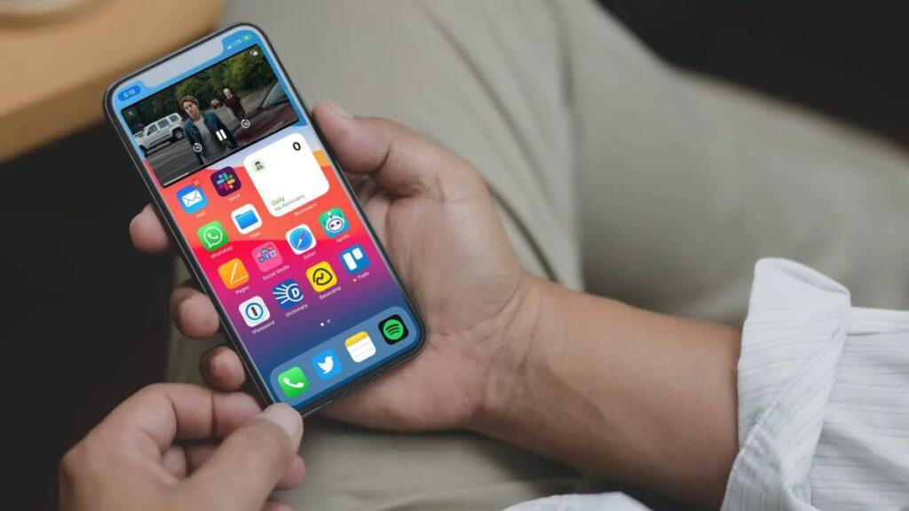 iphone ios 14 pip