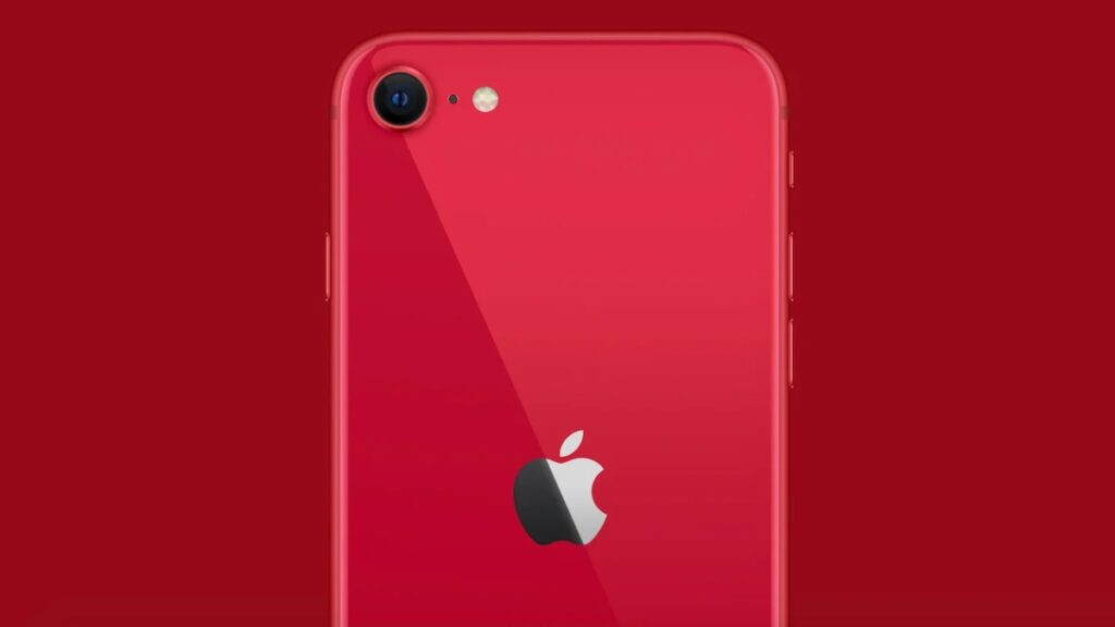 iphone SE 2020 vermelho