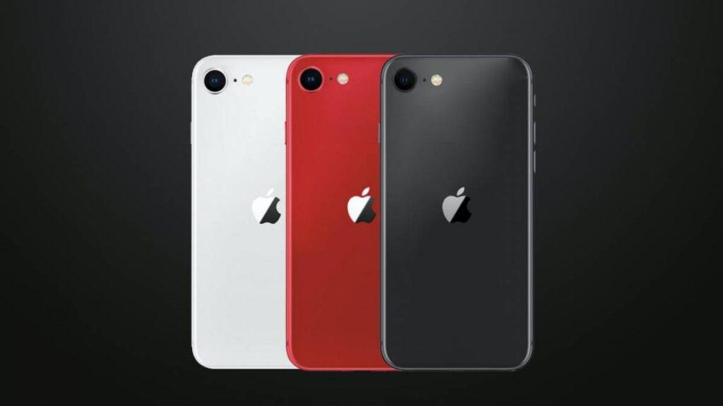 iphone se 2020 cores