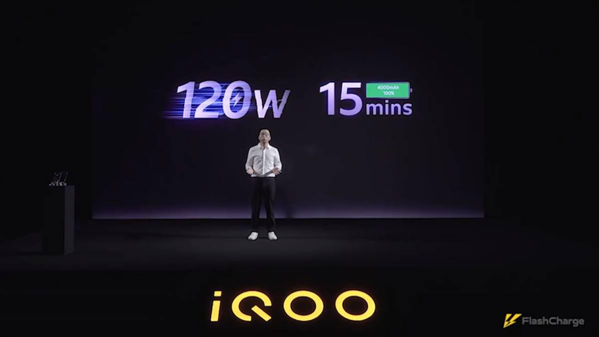 IQOO apresentou carregamento rápido a 120W e OPPO prepara-se para lançar tecnologia de 125W