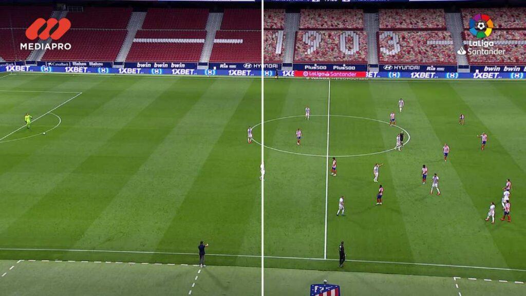 laliga realidade aumentada jogos futebol