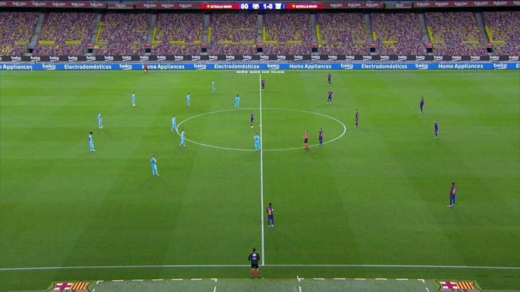 laliga realidade aumentada jogos futebol adeptos barcelona