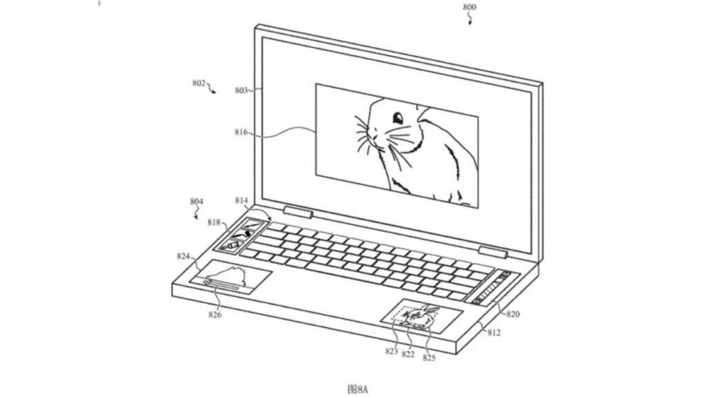 macbook patente 5 ecras