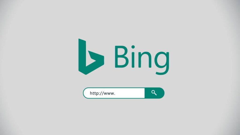 bing motor de pesquisa
