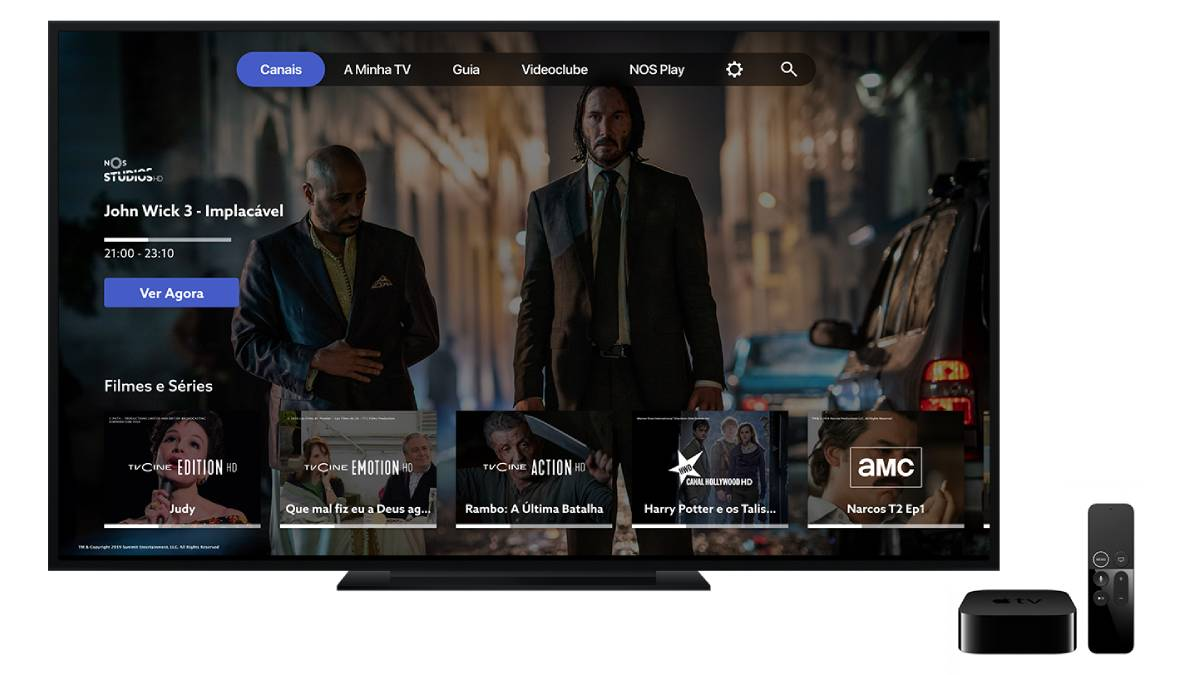 nos apple tv 4k 64gb
