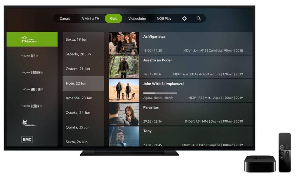nos apple tv 4k