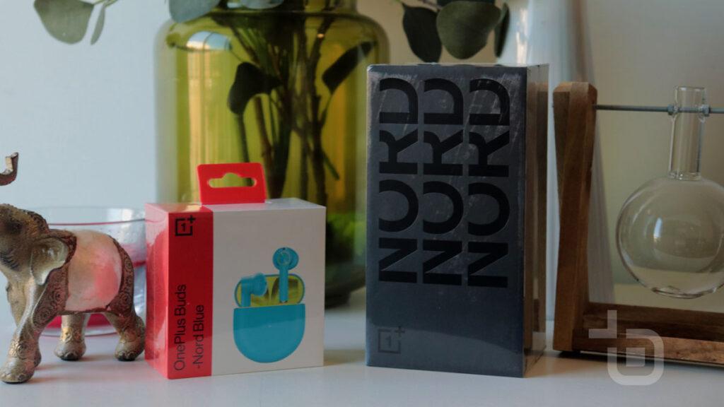 oneplus nord caixa buds