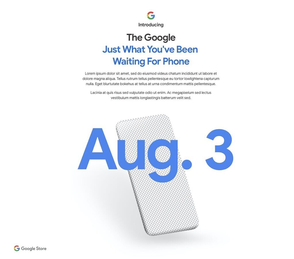 google pixel 4a evento