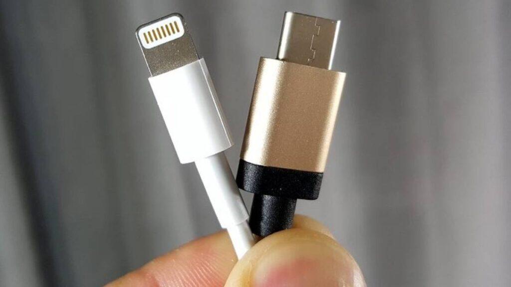 usb tipo c lightning smartphones