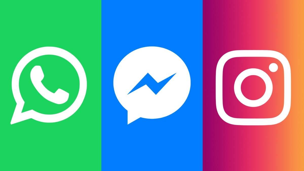 whatsapp instagram integracao facebook messenger
