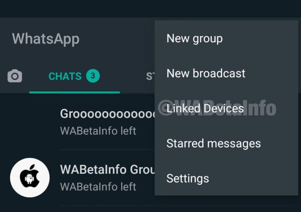 whatsapp varias contas