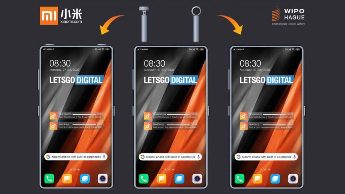 Xiaomi patenteia smartphone com earbuds TWS incorporados