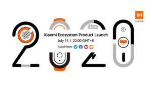 Que novidades irão ser apresentadas pela Xiaomi no dia 15 de julho?