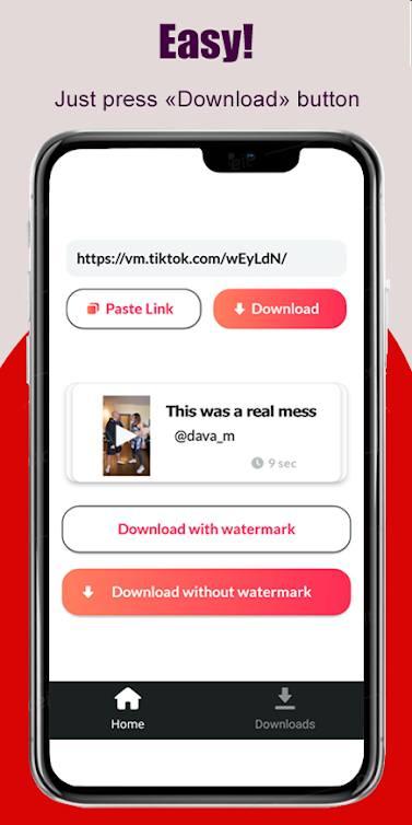 Video Downloader para TikTok