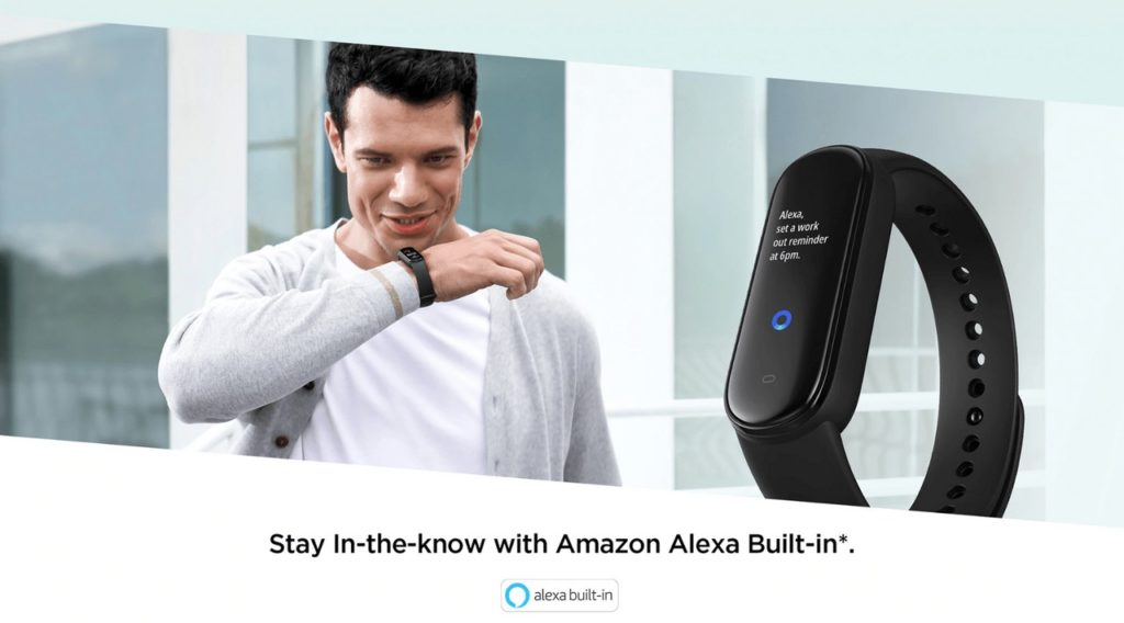 amazon alexa amazfit band 6