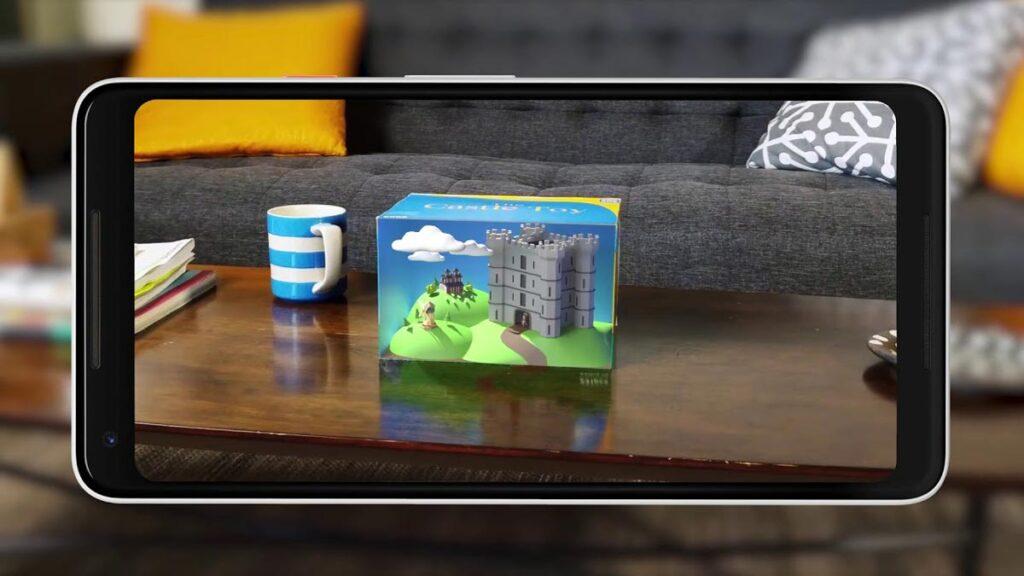 arcore smartphones-google realidade aumentada