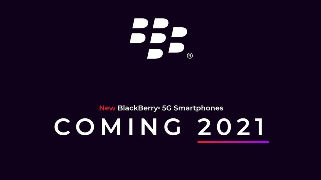 blackberry smartphones 2021 qwerty 5g