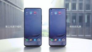 Xiaomi, Samsung, OPPO, ZTE e Vivo preparam-se para lançar este ano câmara debaixo do ecrã