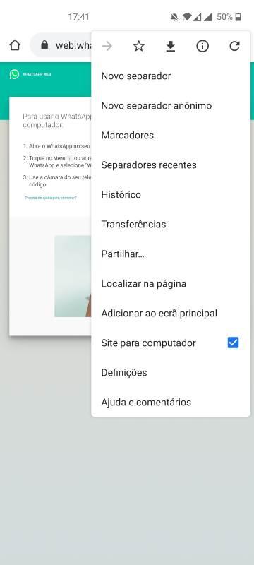 como configurar o whatsapp em 2 equipamentos (1)