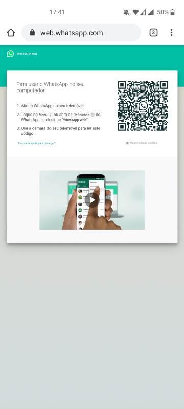 como configurar o whatsapp em 2 equipamentos (2)