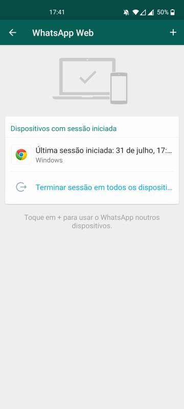 como configurar o whatsapp em 2 equipamentos (4)