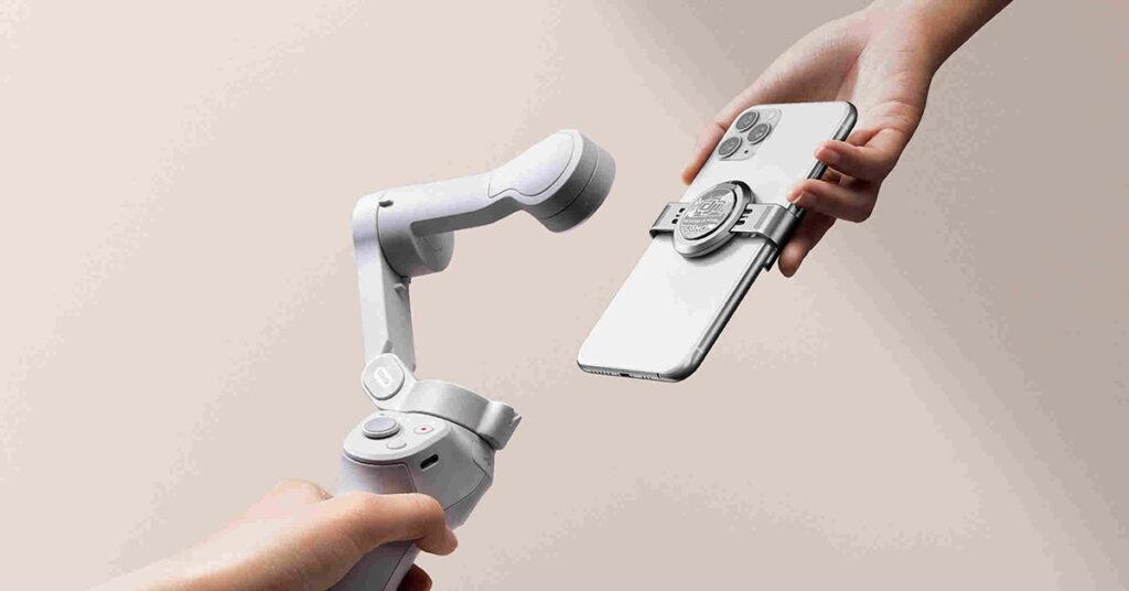 dji om 4 gimbal estabilizador smartphone